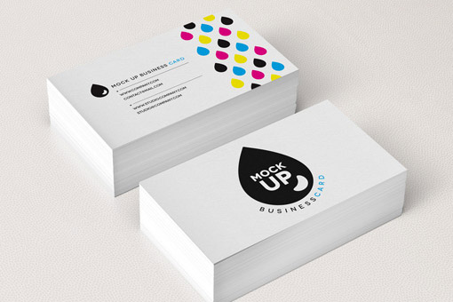 2 sided business card
